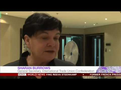 Inside Qatar Labour Camps BBC Leana Hosea