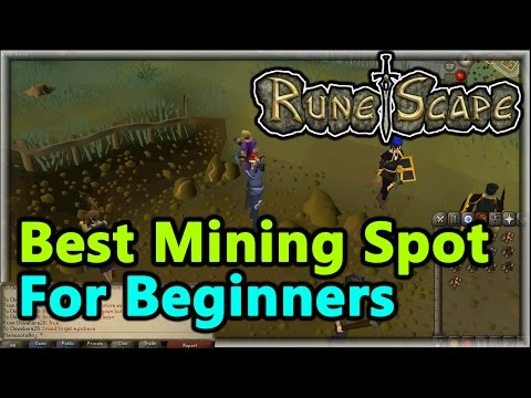 OldSchool Runescape - Best Mining Spot For Beginners! (Runescape Guide) - EP. 3