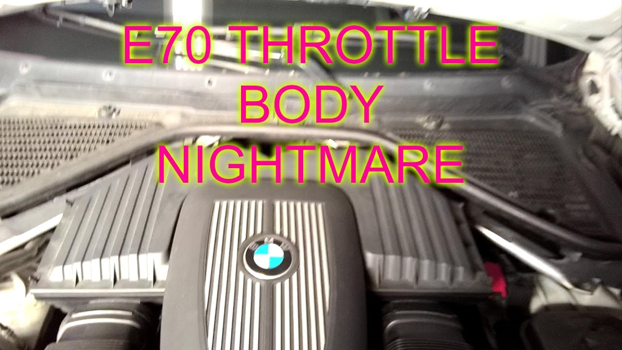 BMW X5 Throttle Problem Resoved From European Car Parts