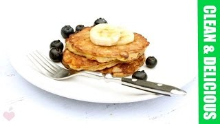 2-ingredient Banana Pancakes (grain-free!)