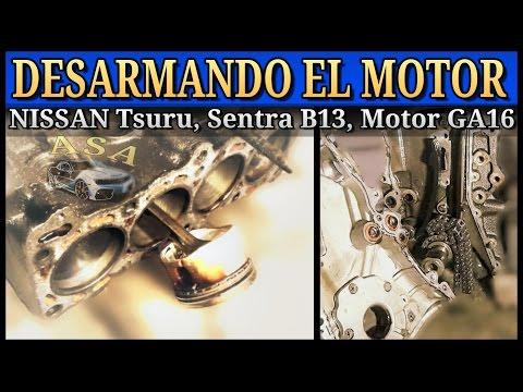 Фото к видео: DESPIECE DE MOTOR, Nissan Tsuru, Sentra B13, GA16