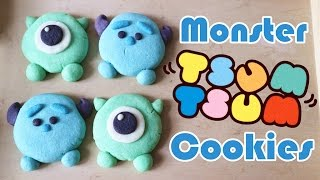 How to make Monster Tsum Tsum Cookies 曲奇