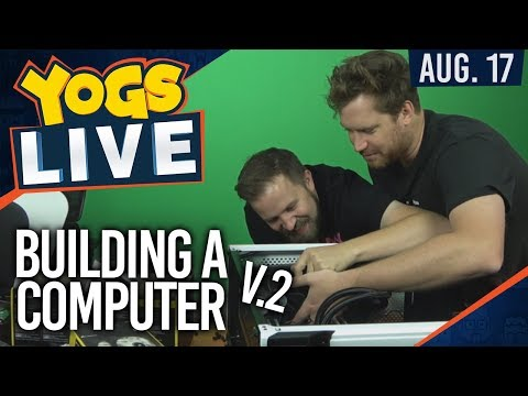 VAPING ON A MOBO - Building a PC [2] w/ Turps, Smith & Sips - 17th August 2017