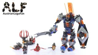 Lego Nexo Knights 70326 The Black Knight Mech - Lego Speed Build Review
