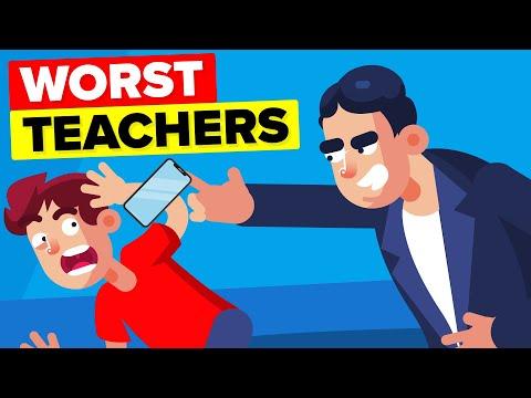 World's Worst Teachers - 9 Insane Things That Got Them Fired