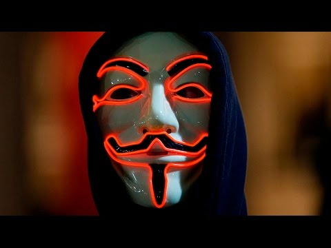 Anonymous hold Million Mask March in London (streamed live)