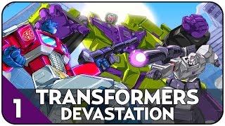 NAJLEPSZA GRA O ROBOTACH - TRANSFORMERS DEVASTATION - CHAPTER I #1 [PL/HD]