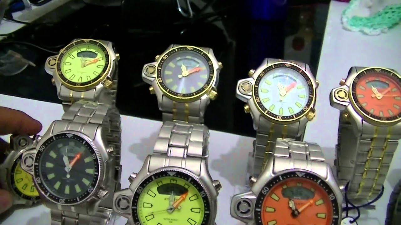 c43bda47ed2 Relógio Atlantis Aqualand Esportivo - YouTube