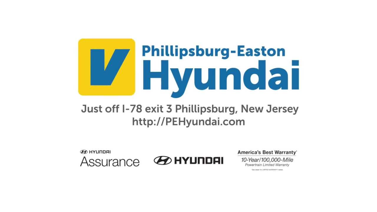 Phillipsburg Easton Hyundai (August 2013 TV Commercial) - YouTube