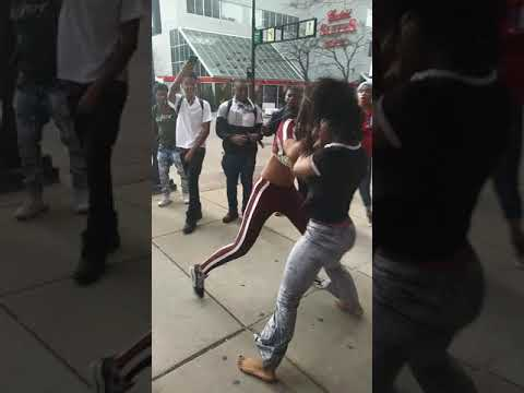 Cincinnati fight pt 2...same girl different friend