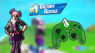 Noob Gets A Victory Royale On Fortnite With A Pdp Wired Fight Pad Controller