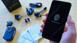 Blackphone Unboxing: Setting up the Secret Smartphone
