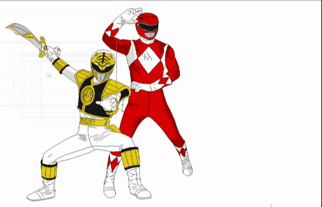 SpeedPaint  Power Rangers  YouTube