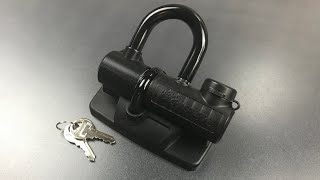[697] Master Lock Truck Bed U-Lock Picked (Model 8287 DAT)