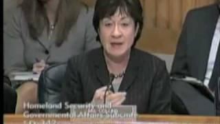 Senator Susan Collins questions Postmaster General