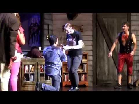 Evil Dead The Musical Marriage Proposal at The Bushnell