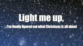 Owl City - Light of Christmas ft. TobyMac (Lyric Video)