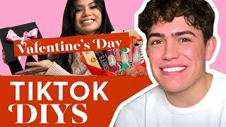 We Help TikTok Star Anthony Michael Barajas Make A Valentine's Day DIY Surprise |