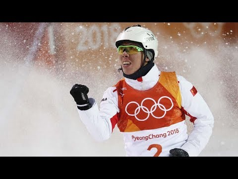 Freestyle skiing: China claims silver in men's aerials final