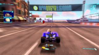 Cars 2 PS3 Midnight Francesco Race Gameplay