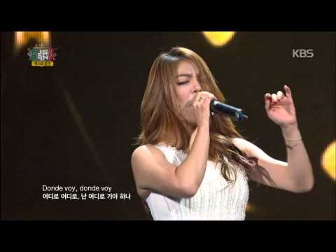 [HIT] 뮤직뱅크 인 멕시코(MusicBank in Mexico)-에일리(Ailee) - Donde voy.20141112
