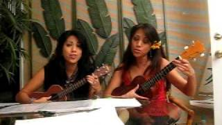 Lucky  by Jason Mraz ft. Colbie Calliat Ukulele Cover  by V and B