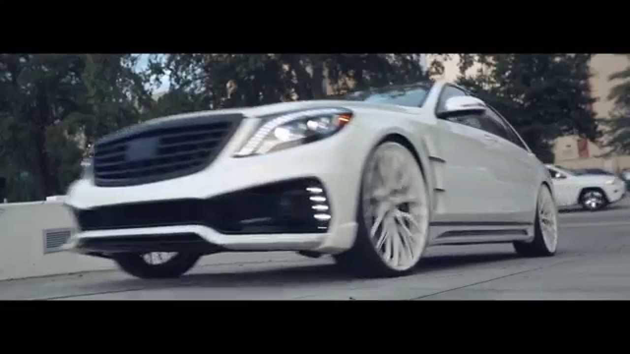 Amani Forged Wheels | Mercedes S550 with Wald Black Bison ...
