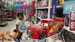 New Disney Cars Toy Hunt Jada Toys Rusteze Lightning McQueen Diecast New PJ MASKS PAW PATROL TOYS