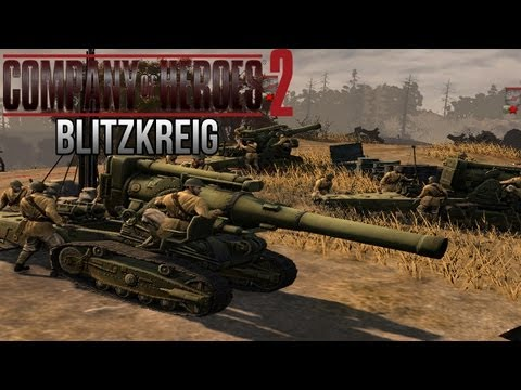 Company of Heroes 2 - Blitzkreig on General - Theater of War Gameplay 2/3