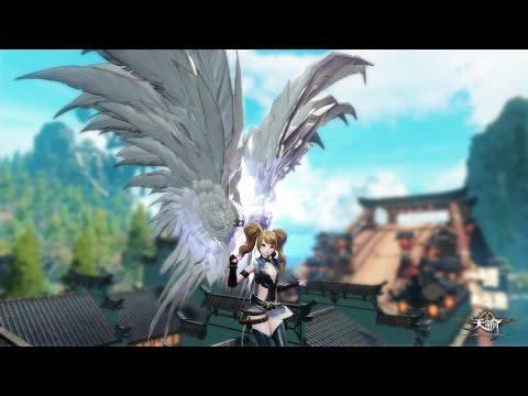 Revelation Online Open Beta Flying Around White Wings