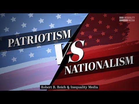 american nationalism vs patriotism