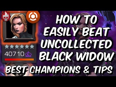 How To Easily Beat Black Widow (Claire Voyant) Uncollected Guide - Marvel Contest Of Champions