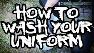 How to Wash Your Kendo Uniform - The Kendo Show