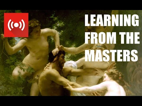 LEARNING FROM THE MASTERS - BOUGUEREAU - Exploring the style