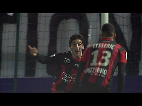 Goal Neal MAUPAY (90' +1) - OGC Nice - Evian TG FC (3-2) / 2012-13