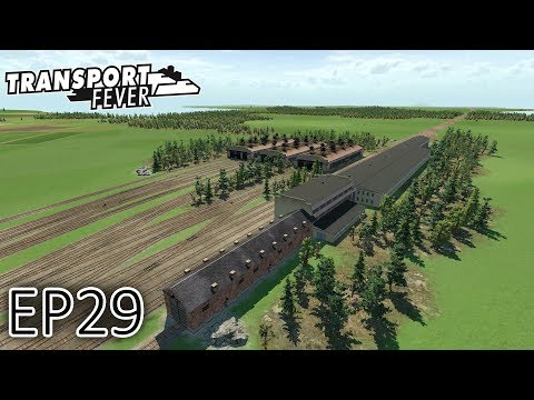 Transport Fever Gameplay | The Great Lakes | Detroit Depot! | S2 - Episode 29