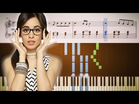 Camila Cabello - Never Be The Same - Piano Tutorial + SHEETS
