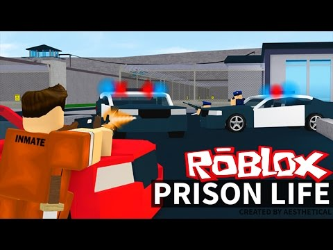Roblox Adventures / Prison Life / ESCAPING FROM PRISON!