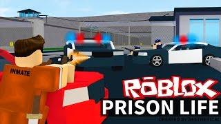 ESCAPE DE PRISON EN ROBLOX! (Vie de prison de Roblox)