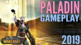 WoW: Paladin Gameplay 2019 - Battle for Azeroth & All Specs