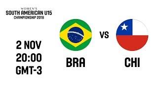 LIVE - Brazil v Chile - South American U15 Women's Championship 2018