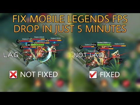 How To Fix FPS DROP On Mobile Legends