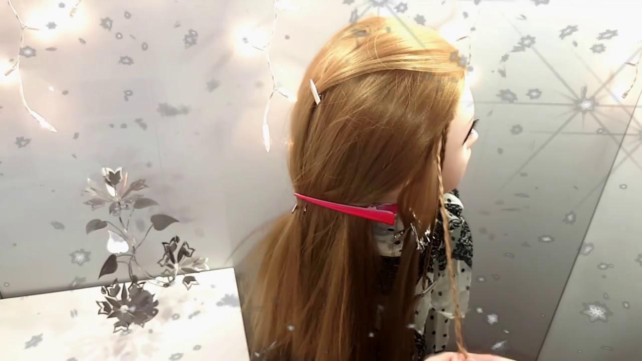 Прически для ленивых Прическа на распущенные волосы