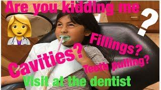 Savannah visits the dentist (how to brush your teeth kids)