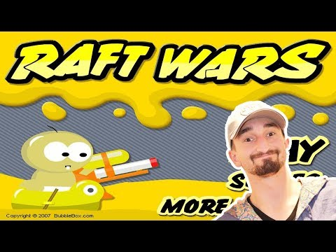 A WEB GAME CLASSIC! - RAFT WARS!! - Flash Player Games