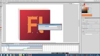 """Видеоурок - """"Анимация появления логотипа во Flash"""""""