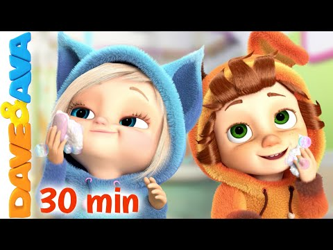 😁  Brush Your Teeth and More Nursery Rhymes and Baby Songs by Dave and Ava 😁