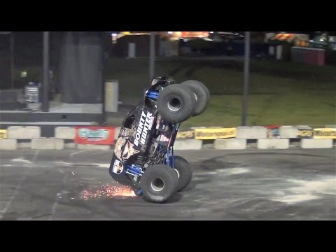 Monster Truck freestyle @ Puyallup, Spring Fair 2017