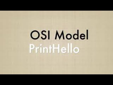 OSI Model | Explanation | Computer Networking - PrintHello