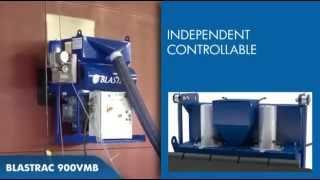 Вертикальная дробеструйная машина 900VMB BLASTRAC(http://inpromtehnika.com.ua (067) 12-220-10 Производительность 120m²/h по вертикальной стальной поверхности SA 2,5., 2014-04-01T09:21:58.000Z)